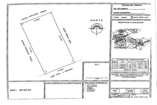 Foto de terreno comercial en venta en avenida universidad , jose maria pino suárez, centro, tabasco, 5648679 No. 02