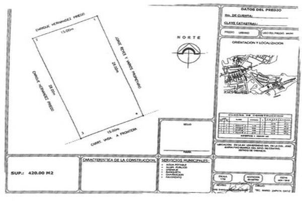 Foto de terreno comercial en venta en avenida universidad , jose maria pino suárez, centro, tabasco, 5648679 No. 03