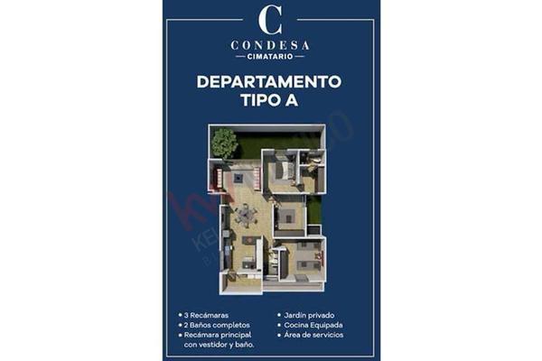 Foto de departamento en venta en avenida valle de oro 200, santa bárbara 2a sección, corregidora, querétaro, 13327977 No. 17