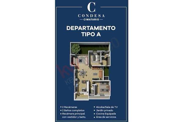 Foto de departamento en venta en avenida valle de oro 200, santa bárbara 2a sección, corregidora, querétaro, 13327977 No. 18