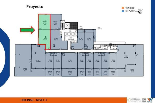 Foto de oficina en venta en avenida vasconcelos , san josé, san pedro garza garcía, nuevo león, 15213741 No. 02