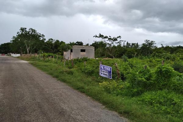 Foto de terreno habitacional en venta en  , aviación, tizimín, yucatán, 0 No. 02