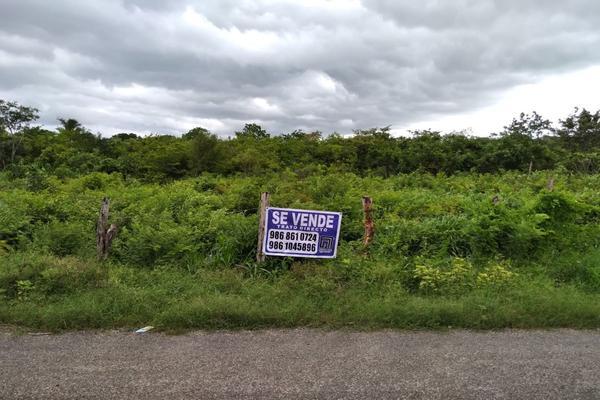 Foto de terreno habitacional en venta en  , aviación, tizimín, yucatán, 0 No. 03