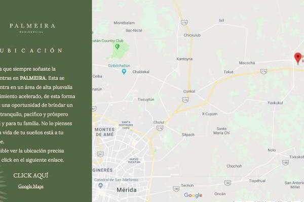 Foto de terreno habitacional en venta en  , baca, baca, yucatán, 14026271 No. 03