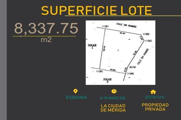 Foto de terreno habitacional en venta en  , baca, baca, yucatán, 7860801 No. 01