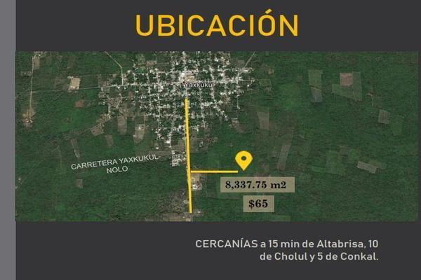 Foto de terreno habitacional en venta en  , baca, baca, yucatán, 7860801 No. 04