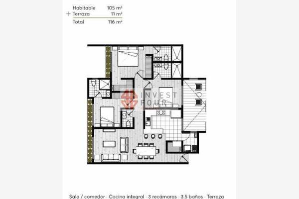 Foto de departamento en venta en barragán, estrene 2 hermosos deptos. en 2° y 3° piso en venta 0, narvarte poniente, benito juárez, df / cdmx, 5292408 No. 06