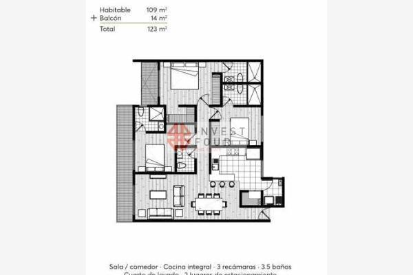 Foto de departamento en venta en barragán, estrene 2 hermosos deptos. en 2° y 3° piso en venta 0, narvarte poniente, benito juárez, df / cdmx, 5292408 No. 11