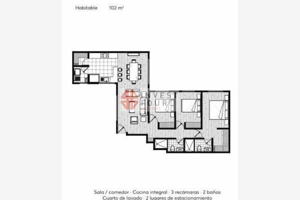 Foto de departamento en venta en barragán, estrene 2 hermosos deptos. en 2° y 3° piso en venta 0, narvarte poniente, benito juárez, df / cdmx, 5292408 No. 12