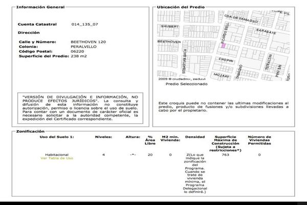 Foto de terreno habitacional en venta en beethoven 120, peralvillo, cuauhtémoc, df / cdmx, 19256066 No. 02