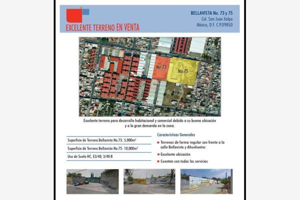 Foto de terreno comercial en venta en bellavista 75, san juan xalpa, iztapalapa, df / cdmx, 16239267 No. 02
