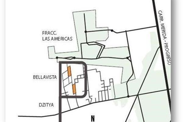 Foto de terreno habitacional en venta en bellavista , dzitya, mérida, yucatán, 0 No. 01