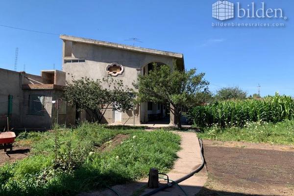 Foto de rancho en venta en  , benigno montoya, durango, durango, 8862512 No. 01