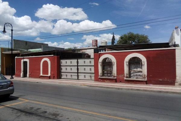 Foto de casa en venta en benito juarez 887, saltillo zona centro, saltillo, coahuila de zaragoza, 8844677 No. 01