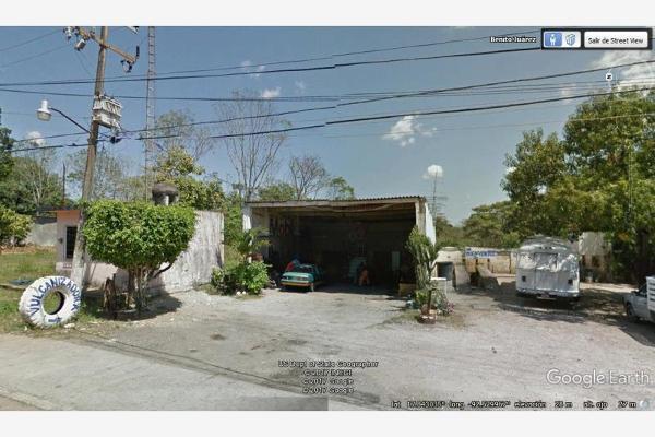 Foto de terreno habitacional en venta en benito juarez , la escalera, macuspana, tabasco, 5390656 No. 01