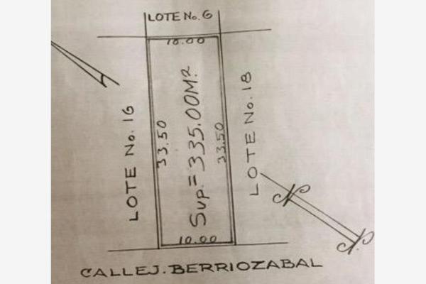 Foto de terreno habitacional en venta en berriozábal 622, formando hogar, veracruz, veracruz de ignacio de la llave, 16649296 No. 02