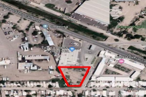 Foto de terreno habitacional en venta en blv- lázaro cárdenas y pedro ascencio , progresista, hermosillo, sonora, 5969174 No. 01