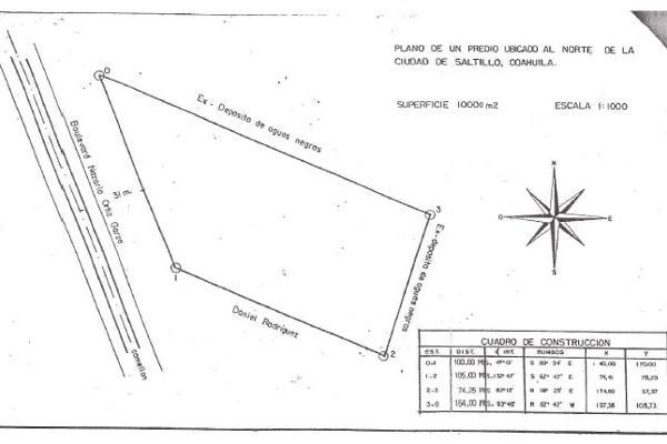 Foto de terreno comercial en renta en blvrd. nazario ortiz garza , virreyes obrera, saltillo, coahuila de zaragoza, 4635151 No. 07