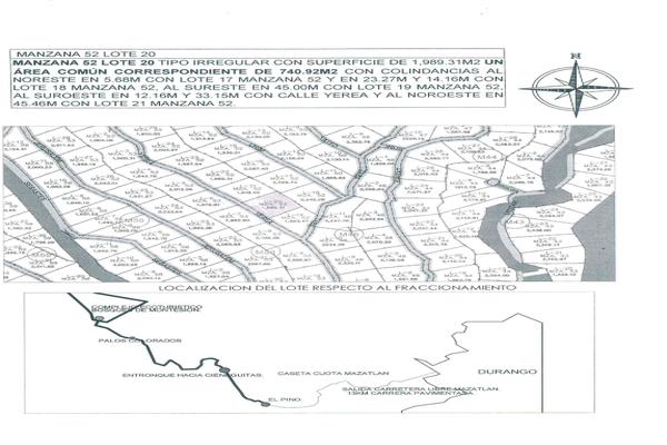 Foto de terreno habitacional en venta en bosques de montesion , otinapa, durango, durango, 8187675 No. 06