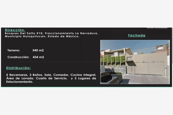 Foto de casa en venta en bosques del salto 10, la herradura, huixquilucan, méxico, 7529404 No. 01