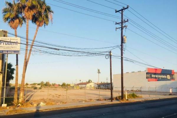 Foto de terreno habitacional en venta en boulevard benito juarez , ex ejido coahuila, mexicali, baja california, 0 No. 03