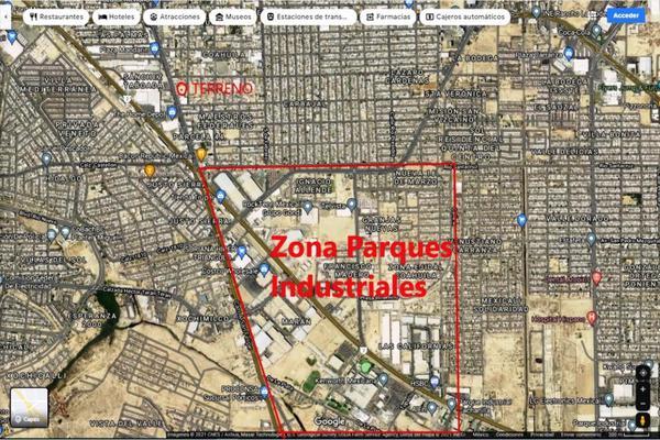 Foto de terreno habitacional en venta en boulevard benito juarez , ex ejido coahuila, mexicali, baja california, 0 No. 06