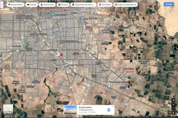 Foto de terreno habitacional en venta en boulevard benito juarez , ex ejido coahuila, mexicali, baja california, 0 No. 11