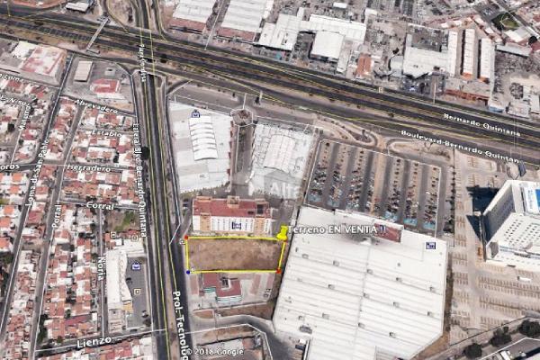 Foto de terreno comercial en venta en boulevard bernardo quintana, prolongacion tecnológico , balcón campestre, querétaro, querétaro, 0 No. 01
