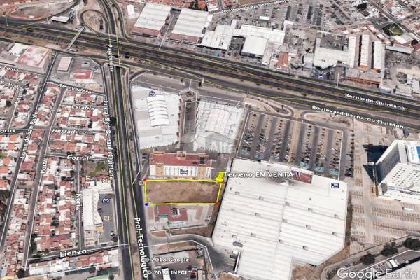 Foto de terreno comercial en venta en boulevard bernardo quintana, prolongacion tecnológico , gobernantes, querétaro, querétaro, 7228244 No. 01
