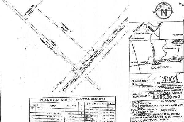 Foto de terreno habitacional en venta en boulevard bicentenario , sol campestre, centro, tabasco, 3464870 No. 01