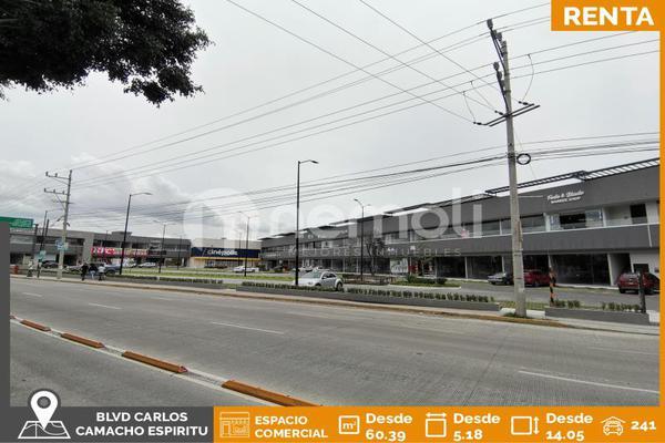 Foto de local en renta en boulevard carlos camacho espiritu 7910, granjas del sur, puebla, puebla, 10196061 No. 01