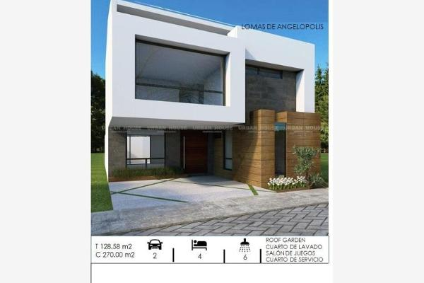 Foto de casa en venta en boulevard de las cascadas 17, zona de profesores, san andrés cholula, puebla, 9916641 No. 01