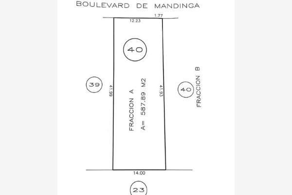 Foto de terreno habitacional en venta en boulevard de mandinga 40, el conchal, alvarado, veracruz de ignacio de la llave, 7202416 No. 01