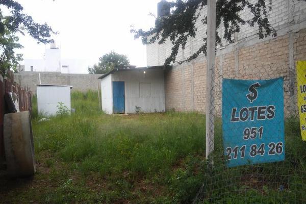 Foto de terreno habitacional en renta en boulevard escuela m?dico militar 03, primera sección barrio san antonio, cuilápam de guerrero, oaxaca, 8878426 No. 03