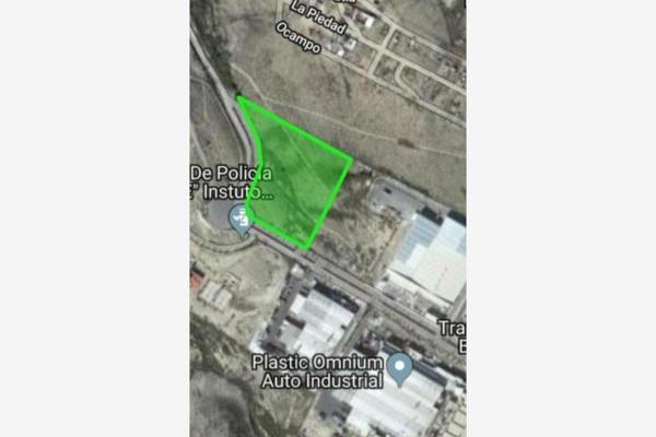 Foto de terreno industrial en venta en boulevard industria de la transformación 4568, parque industrial, ramos arizpe, coahuila de zaragoza, 0 No. 01