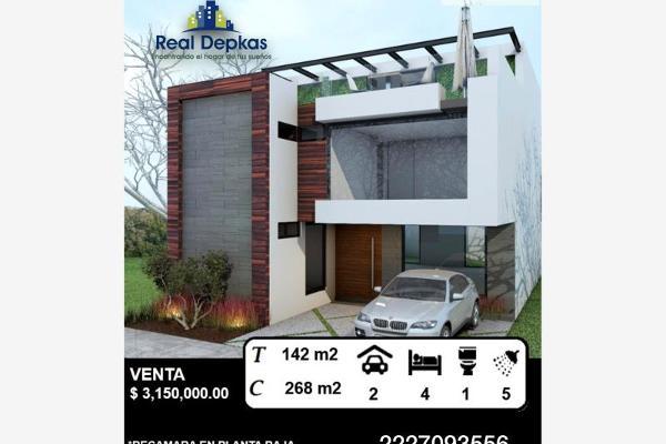 Foto de casa en venta en boulevard lomas 345, lomas de angelópolis ii, san andrés cholula, puebla, 5380516 No. 01