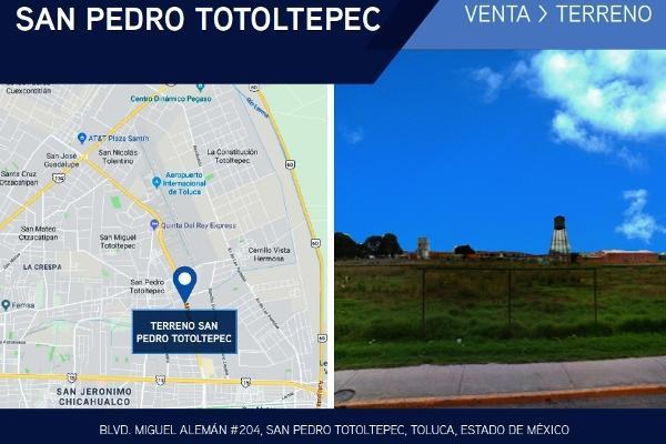 Foto de terreno comercial en venta en boulevard miguel alemán , san pedro totoltepec, toluca, méxico, 4635597 No. 01
