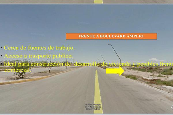 Foto de terreno habitacional en venta en boulevard prolongacion zaragoza. , san miguel, matamoros, coahuila de zaragoza, 5905969 No. 09