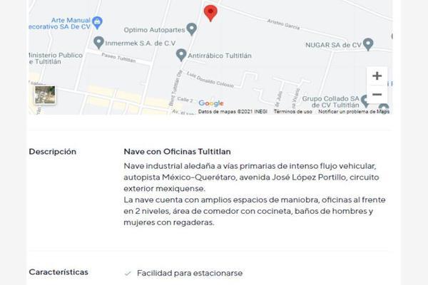 Foto de nave industrial en venta en boulevard tultitlan oriente 23, santiaguito, tultitlán, méxico, 0 No. 19
