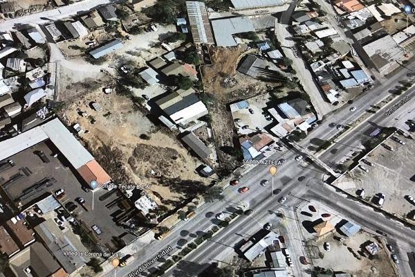 Foto de terreno habitacional en venta en boulevard universidad , guajardo, tecate, baja california, 0 No. 01