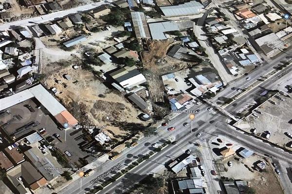 Foto de terreno habitacional en venta en boulevard universidad , guajardo, tecate, baja california, 16080762 No. 01