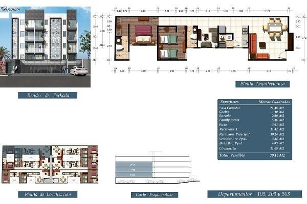 Foto de departamento en venta en bremen , albert, benito juárez, distrito federal, 4668421 No. 06