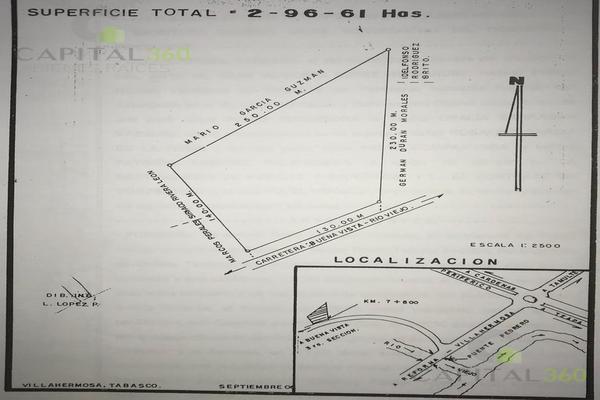 Foto de terreno habitacional en venta en  , buena vista río nuevo 4a sección, centro, tabasco, 7160275 No. 01