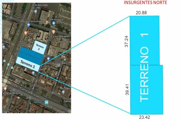 Foto de terreno comercial en venta en  , buenavista, cuauhtémoc, df / cdmx, 16759929 No. 01