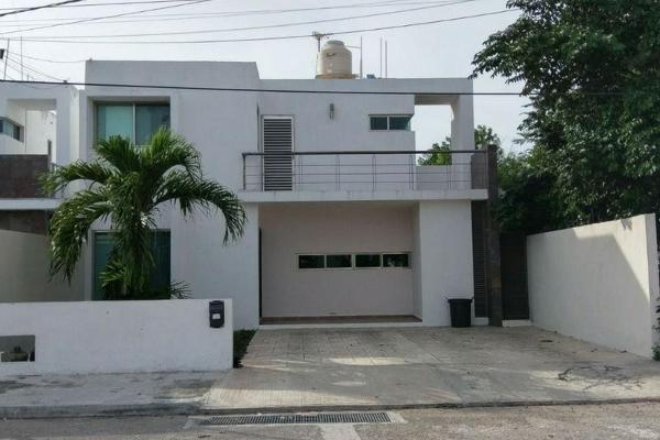 Foto de casa en renta en  , bugambilias, mérida, yucatán, 7932228 No. 01