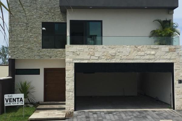 Foto de casa en venta en bulevard mandinga 12, el conchal, alvarado, veracruz de ignacio de la llave, 5401274 No. 01