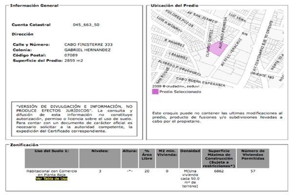 Foto de terreno habitacional en venta en cabo finisterre , ampliación gabriel hernández, gustavo a. madero, df / cdmx, 6918120 No. 03