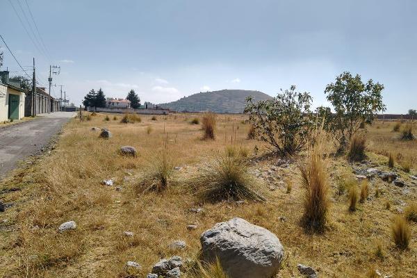 Foto de terreno habitacional en venta en  , cacalomacán, toluca, méxico, 12266889 No. 01