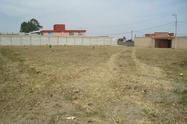Foto de terreno habitacional en venta en  , cacalomacán, toluca, méxico, 3426512 No. 01