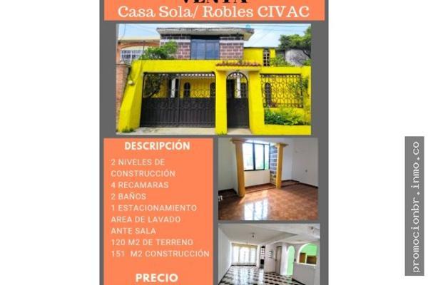 Foto de casa en venta en  , agua fría, jiutepec, morelos, 6169677 No. 01